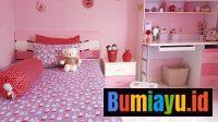 Konsep Desain Kamar Tidur Anak Hello Kitty Ini Bisa Jadi Inspirasi Anda