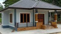 Gambar desain rumah desa yang sederhana